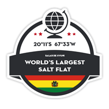 Geographical Points - Biggest Salt Flat