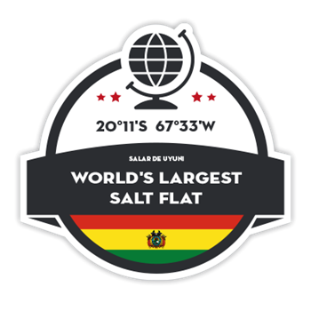 Geographical Points - Biggest Salt Flat