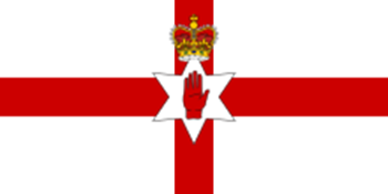 Picture of Old Flag of Northern Ireland (Ulster Banner)