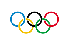 Picture of Olympic flag