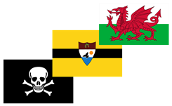 Picture for category Flag Stickers
